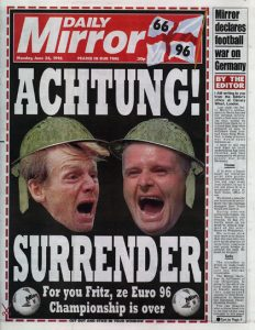 Daily Mirror Front Page 240696