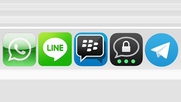WhatsApp, Line, Blackberry, Threema und Telegram: Messenger im Test