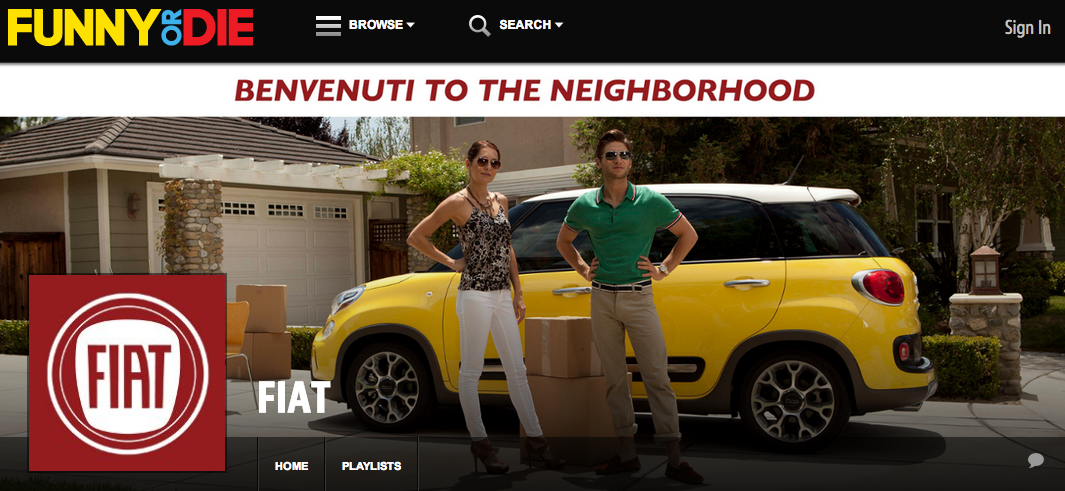 So Lustig Kann Content Marketing Sein Die Fiat Virals Von Funny Or
