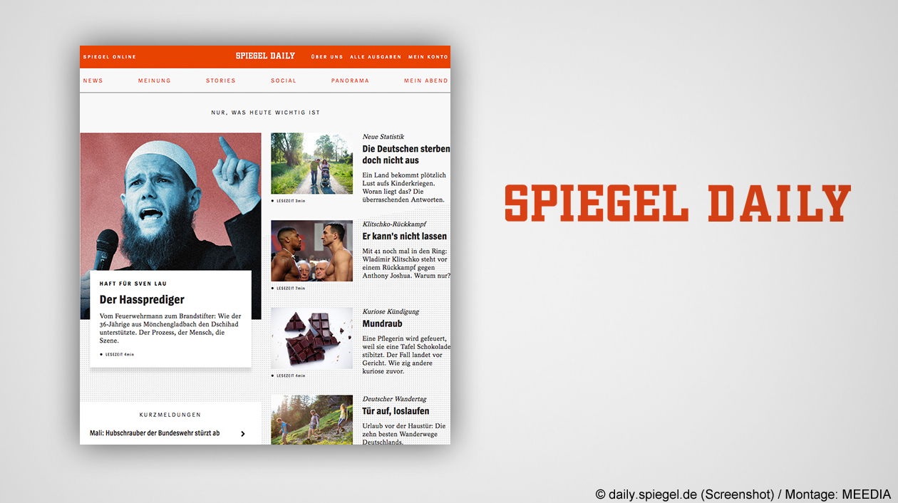 Sehr nettes total desaster warum digital berater for Spiegel daily
