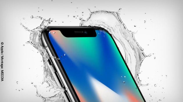 Apples neues Flaggschiff-Smartphone: das iPhone X © Apple