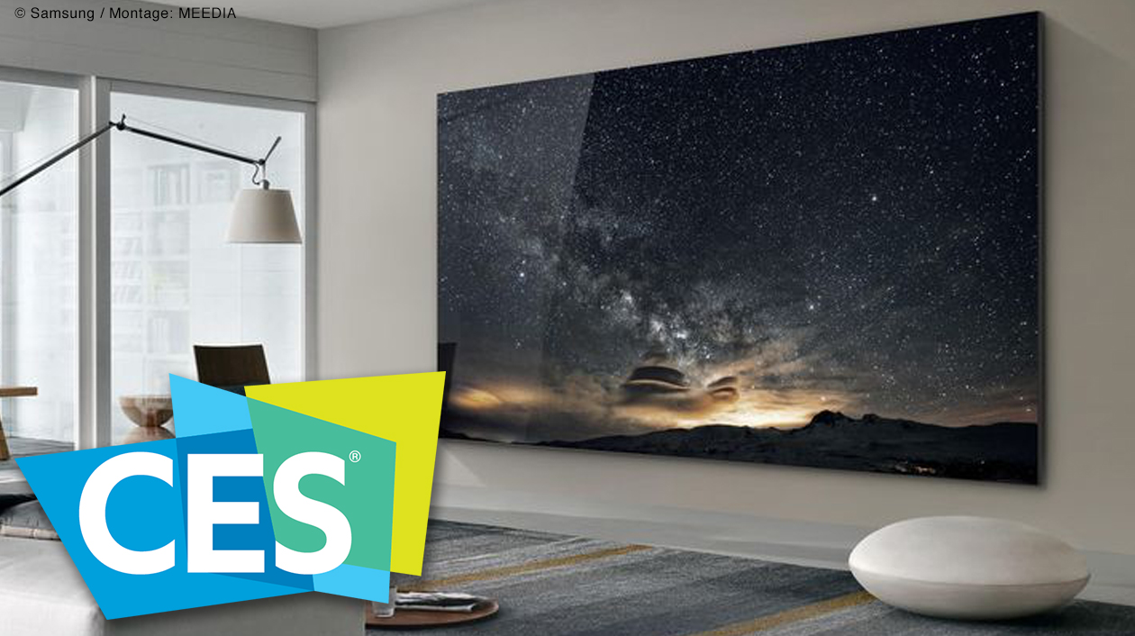 Samsungs Mega-Fernseher 'The Wall'