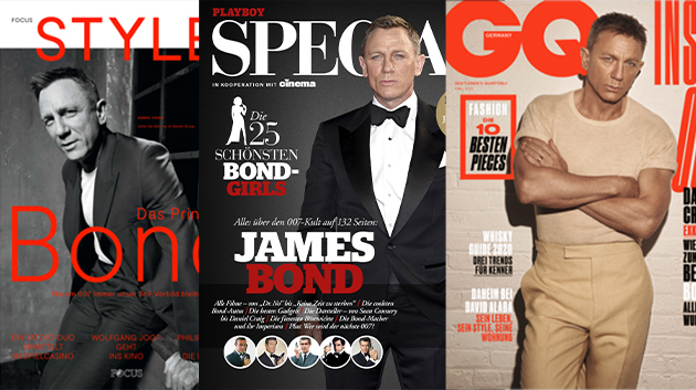 Cover Focus Style, GQ, Playboy