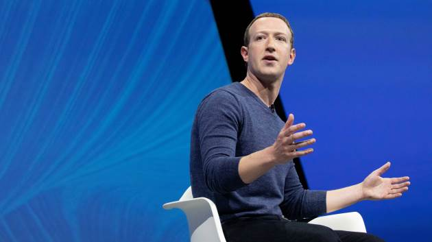 Mark Zuckerberg, chief executive officer and founder of Facebook Inc. attends the Viva Tech start-up and technology gathering