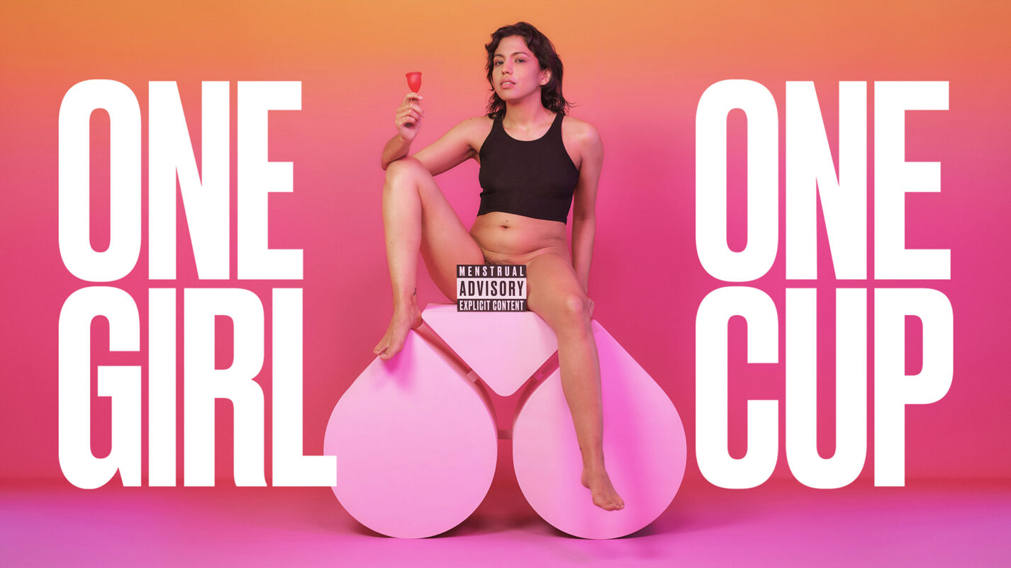"Too hot for Instagram: Die Kampagne ""One Girl, One Cup"" war ein Erfolg für The Female Company. Der könnte jetzt wegen Plagiatsvorwürfen getrübt sein. Foto: The Female Company."